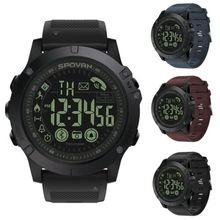 2019 T1 Waterproof Bluetooth Smart Watch Women Men Sport Mil