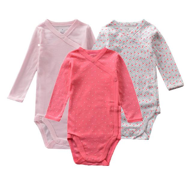 3 pçs/set New Long-sleeved Bebê Menina Vestuário De Algodão Menino Moda Tira Traje Monge Bebê Recém-nascido Bodysuit Da Criança sapo 2 pçs/set