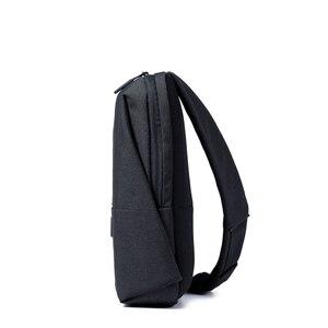 Image 3 - Original Xiaomi sac à dos sac à bandoulière loisirs poitrine Pack petite taille épaule Type unisexe sac à dos sac à bandoulière 4L Polyester