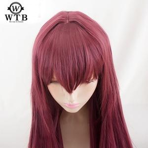 Image 1 - Парик для косплея WTB из синтетических волос, парик для косплея на Хэллоуин, судьба/большой заказ, из проволочного материала, для костюмов на Хэллоуин