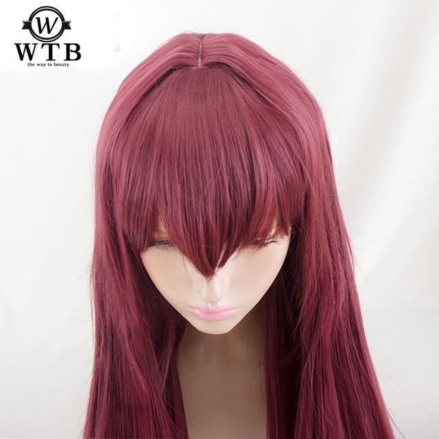 Парик для косплея WTB из синтетических волос, парик для косплея на Хэллоуин, судьба/большой заказ, из проволочного материала, для костюмов на Хэллоуин
