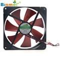 Hot-sale BINMER Computer Fan 140*140mm Best Silent Quiet Case Cooling Fans DC 12V 4D Plug Computer Cooler