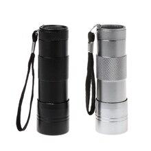 купить UV Flashlight Ultraviolet Light 12LED Detection Fishing Curing Glue Multipurpose fishing tools по цене 110.22 рублей
