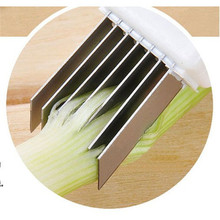 Vegetable Cutter Slicer Magic Shredded Green Onion Knife Cut Spring Kitchen Tool Knives Dropshipping X