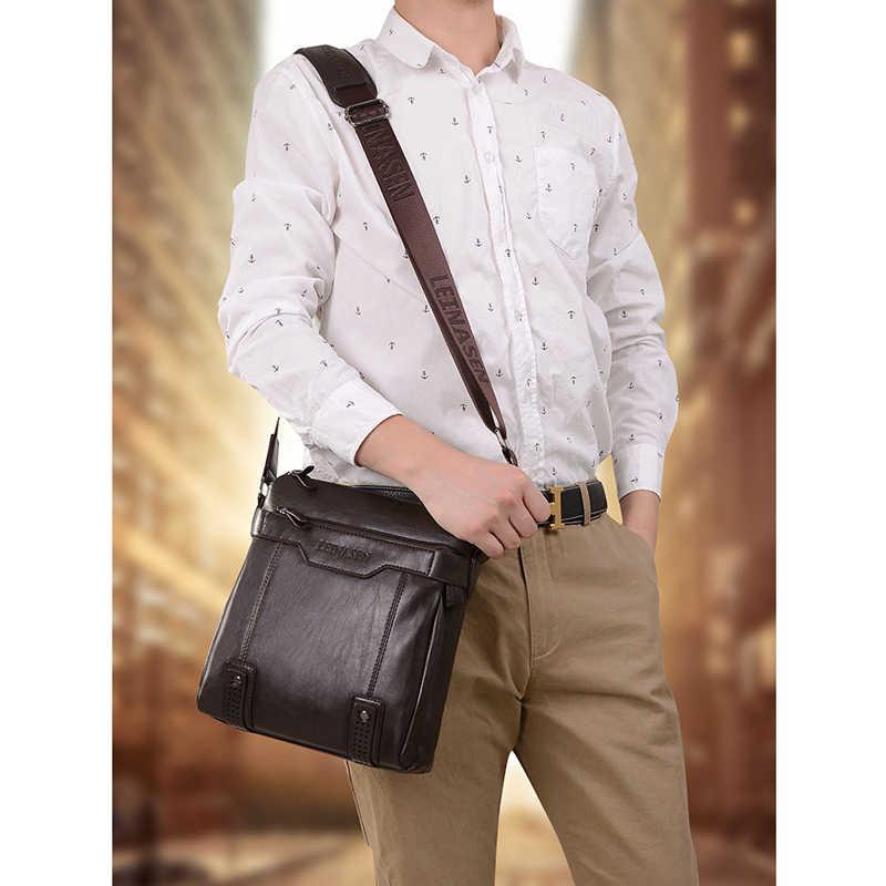 Bolso hombre lo mas vendido maleta sacoche homme prawnik biznes luxe sac skórzana teczka na laptopa torebki biurowe dla mężczyzn