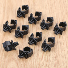 10Pcs Car Wiring Harness Fastener for All Car Auto Route Fixed Clips Corrugated Pipe Tie Wrap Cable clamp