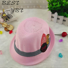 The new spring and summer children s hat knitted baby hats for men and women  sun hat 398716d92daf
