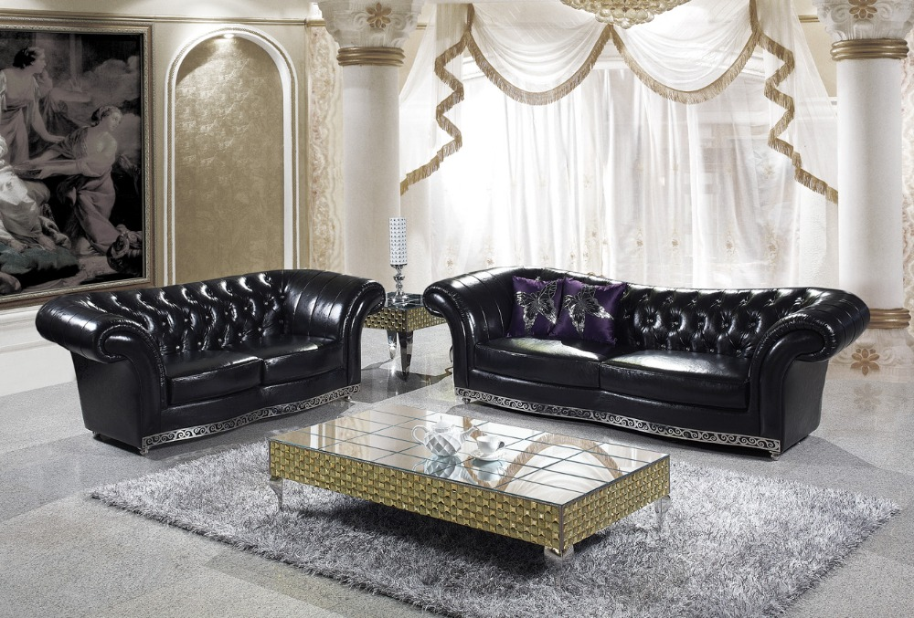Living room furniture sofa modern sofa design 344 chesterfield sofa