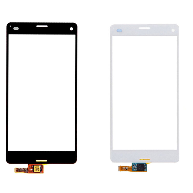 glass lens for sony xperia z3 white part touch screen digitizer glass