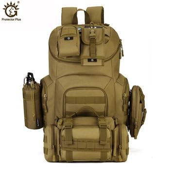Mochila de asalto táctica Militar, 40L, Molle, resistente al agua, Militar, para exteriores, senderismo, Camping y caza