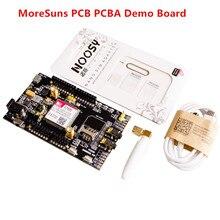 10 шт./партия SIM808 GPRS/gsm-щит макетная плата четырехдиапазонный модуль для Arduino совместимый высокое качество