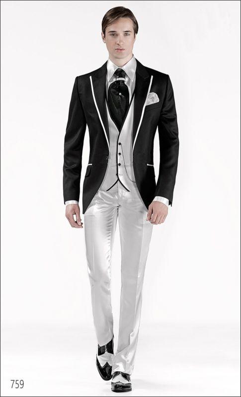 Nouvelle Arrivée Marié Smoking Slim Fit Garçons D honneur Maximale de Revers  De Mariage Dîner Costumes Meilleur Homme Marié (Veste + Pantalon + cravate  + ... 0b47e8665c6
