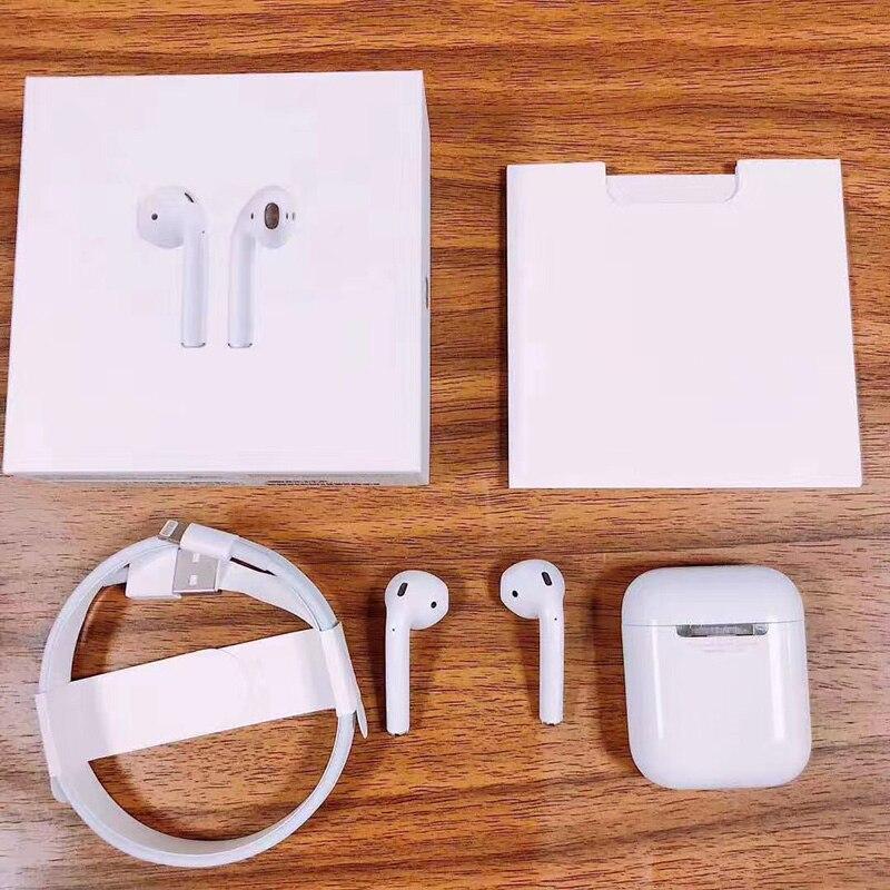 TWS 2019 sans fil Bluetooth 5.0 Pop-up Mini Air écouteurs 1:1 réplique casque pour pods PK i12 i10 i30 TWS i11 i13 i14 i9s