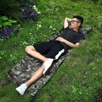 Inflatable Air Mattress Pillow Sleeping Bag Bed For Nap Camping Hiking Outdoor Activity Portable Survival Tool 183x57cm