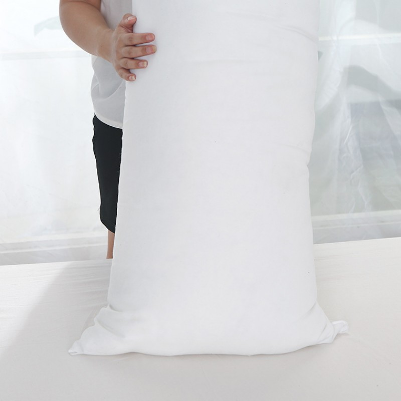 Image 5 - Long Pillow Inner White Body Cushion Pad Anime Rectangle Sleep Nap Pillow Home Bedroom White Bedding Accessories 150 x 50CM-in Decorative Pillows from Home & Garden