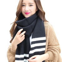 2017 Hot New Fashion Mix Colors Ring Women Scarves Knitted Wool Neck Cowl Wrap Shawl Thicken