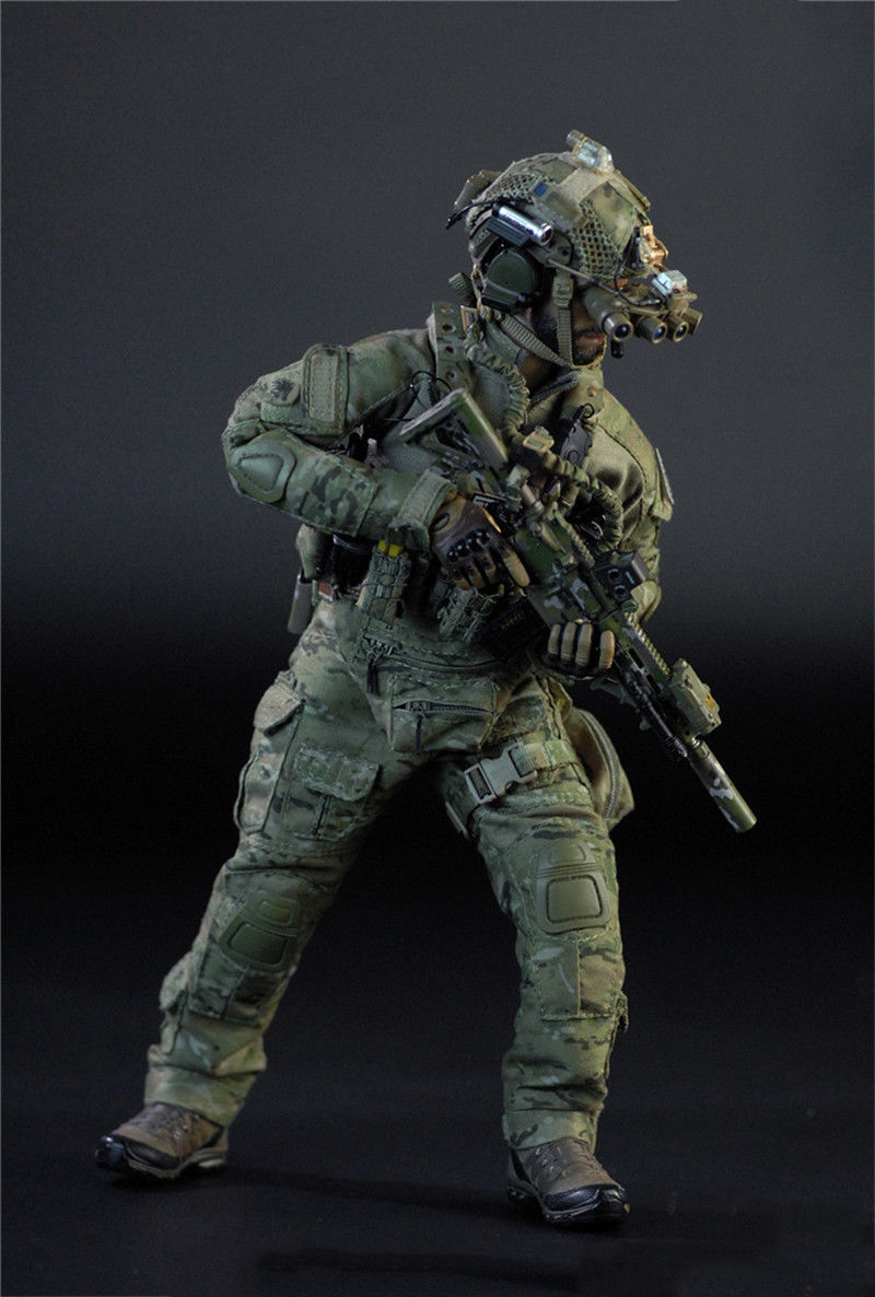 1/6 Full Set Action Figure for Collection US Navy SEAL Team Six Solider M009 Male Figure Model Toys for Collection