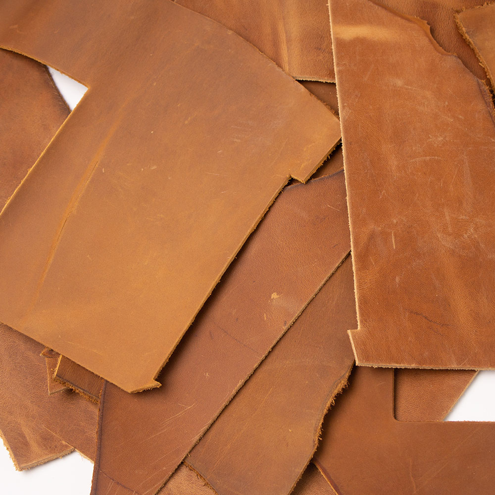 Cowhide Scrap Leftover Cow Leather Thick Genuine Leather First Layer Tanned Cow Skin Hide Leather Full Grain 1.8 To 2.2 Mm