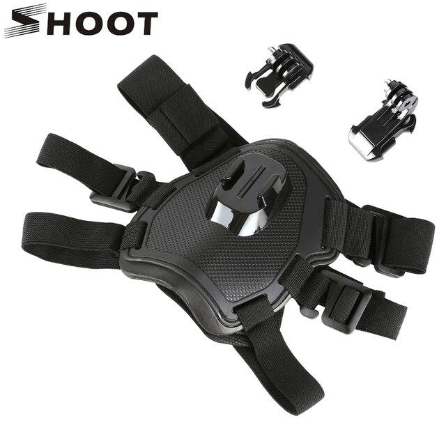 לירות להביא כלב רתם חזה רצועת עבור GoPro גיבור 9 8 7 5 מושב SJCAM SJ4000 M20 Xiaomi יי 4K H9r DJI פעולה מצלמה אבזר