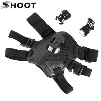 SHOOT Fetch Dog Harness Chest Strap for GoPro Hero 8 7 5 Session SJCAM SJ4000 Xiaomi Yi 4K H9 DJI Action Camera Go Pro Accessory 4k lens 12mm 1 1 8 inch 34d m12 hfov 10mp lens for gopro hero 4 3 gitup 2 action camera sjcam sj4000 xiaomi yi 4k sport dv lens