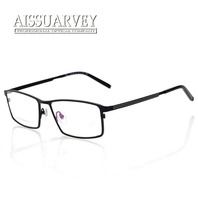 Glasses Frames Men Pure Titanium Optical Eyeglasses Prescription Full Rim Fashion Brand Designer Top Quality Eyewear