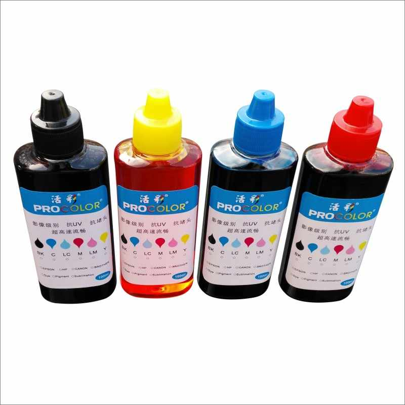 303 S BK XL CISS Refill Inkjet Cartridge Pewarna Tinta Isi Ulang Kit untuk HP HP303XL Foto Iri 6220 6230 6232 6234 7130 7134 7830 Printer