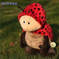 Подарок для ребенка 1 шт. 35 см NICI супер мягкие Fly Божья коровка жук успокоить Плюшевые удержания кукла прекрасные дети мальчик мягкая игрушка