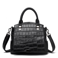 Luxury Handbags Women Bags Designer Crocodile Grain Genuine Leather Bags For Women Tote Bag Bolsa Feminina