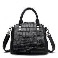 Luxury Handbags Women Bags Designer Crocodile Grain Genuine Leather Bags For Women Tote Bag Bolsa Feminina