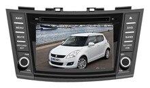 MTK3360 velocidad más rápida 512 MB RAM WinCE 6.0 coche reproductor de DVD 1080 p GPS para suzuki swift 2011- 2015 radio Bluetooth mapa Cámara