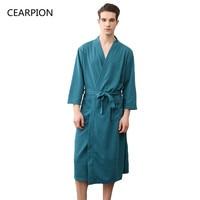 Shower robe hot men in underwear luxury robes men dress best mens robe mens silk dressing gown Men's Clothing & Accessories
