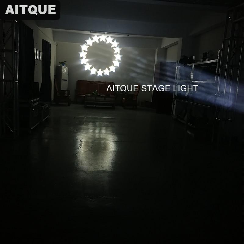 (8 шт./Чехол) сценический светильник, оборудование, изящный художественный светильник, движущаяся головка 350 Вт, луч, движущаяся головка, светильник, s луч, меняющий цвет, светодиодный светильник, лампа - 4