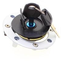 Aluminum Motorcycle Fuel Tank Cover Moto Oil Gas Lock Cap For Suzuki GSX600F GSX750 GSX1400 GSX1100 RF400 GSF250 RG125 RGV250
