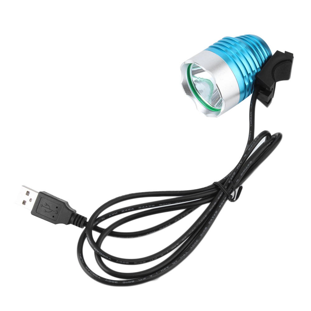 Top 2000 Lumen 3-12V XM-L T6 LED Waterpoof Bicycle Headlight Lamp For Bike Cycling Bike Bicycle Front Light USB + O Ring Rubber