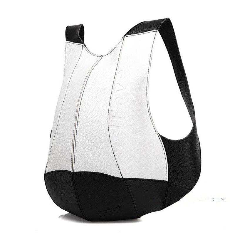 Модные кожаные рюкзак Для женщин школьные сумки для девочек-подростков SAC DOS Рюкзаки Школьный дорожная сумка Mochila Escolar