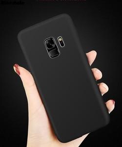 Image 2 - Чехлы для Samsung Galaxy A6 2018, Мягкий Силиконовый ТПУ матовый чехол для Samsung A6 Plus A6 + A6 + 2018, чехол для телефона