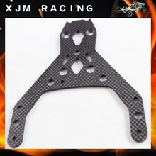 1/5 rc car Carbon Front upper plate for 1/5 scale HPI ROVAN KM baja 5b/5t/5sc