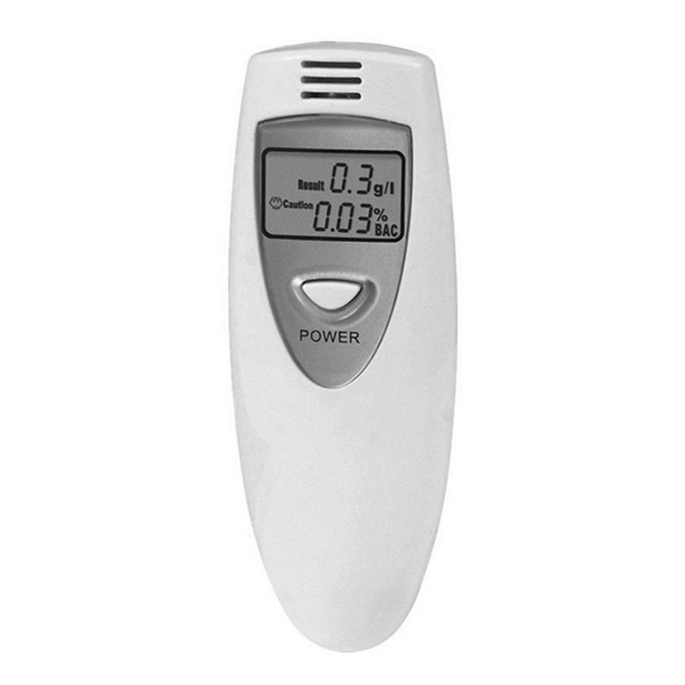 Тестер алкоголя для дыхания Белый Портативный Тестер дыхания автомобильный тестер алкоголя профессиональный детектор