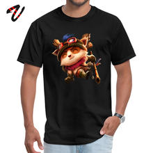 Gedrukt Teemo Man Top T-shirts Mode NIEUWE JAAR DAG Korte In Moskou O Hals 100% Mad Max Stof Tops Tees normale Tops T-shirt(China)