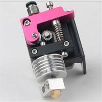 Reprap 3D Printer MK10 extruder full kit Nema 17 stepper motor for 1.75mm direct metal extruder