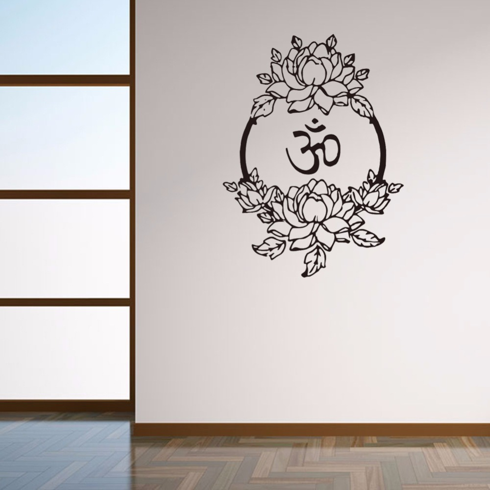 online get cheap muslim wallpaper aliexpress com alibaba group muslim words flowervine wall stickers sitting room bedroom decorative wall decal sticker removable wallpaper home decor