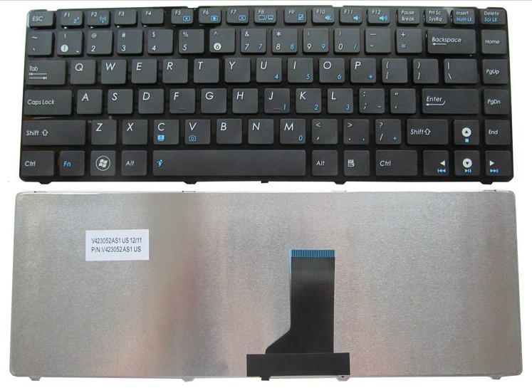 original Brand new Laptop US Keyboard For ASUS K43 K43BR K43BY K43E K43TA K43TK K43U K43S X43 A43