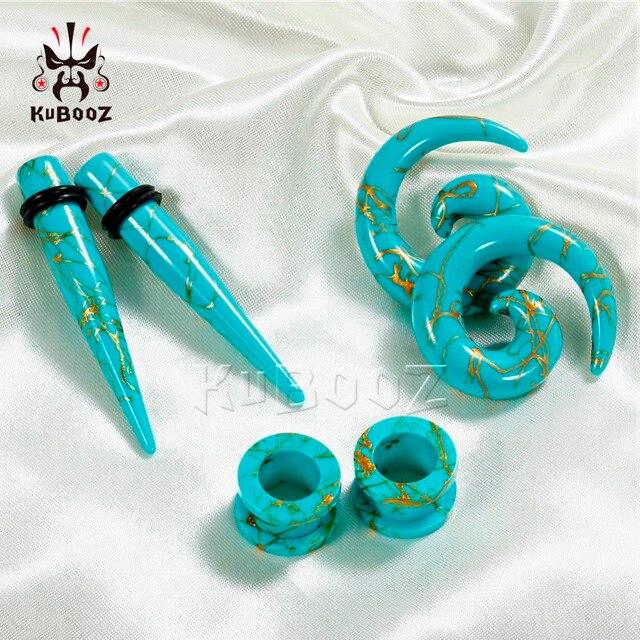 Kubooz пирсинг экспандер набор для удлинения и заглушек модные