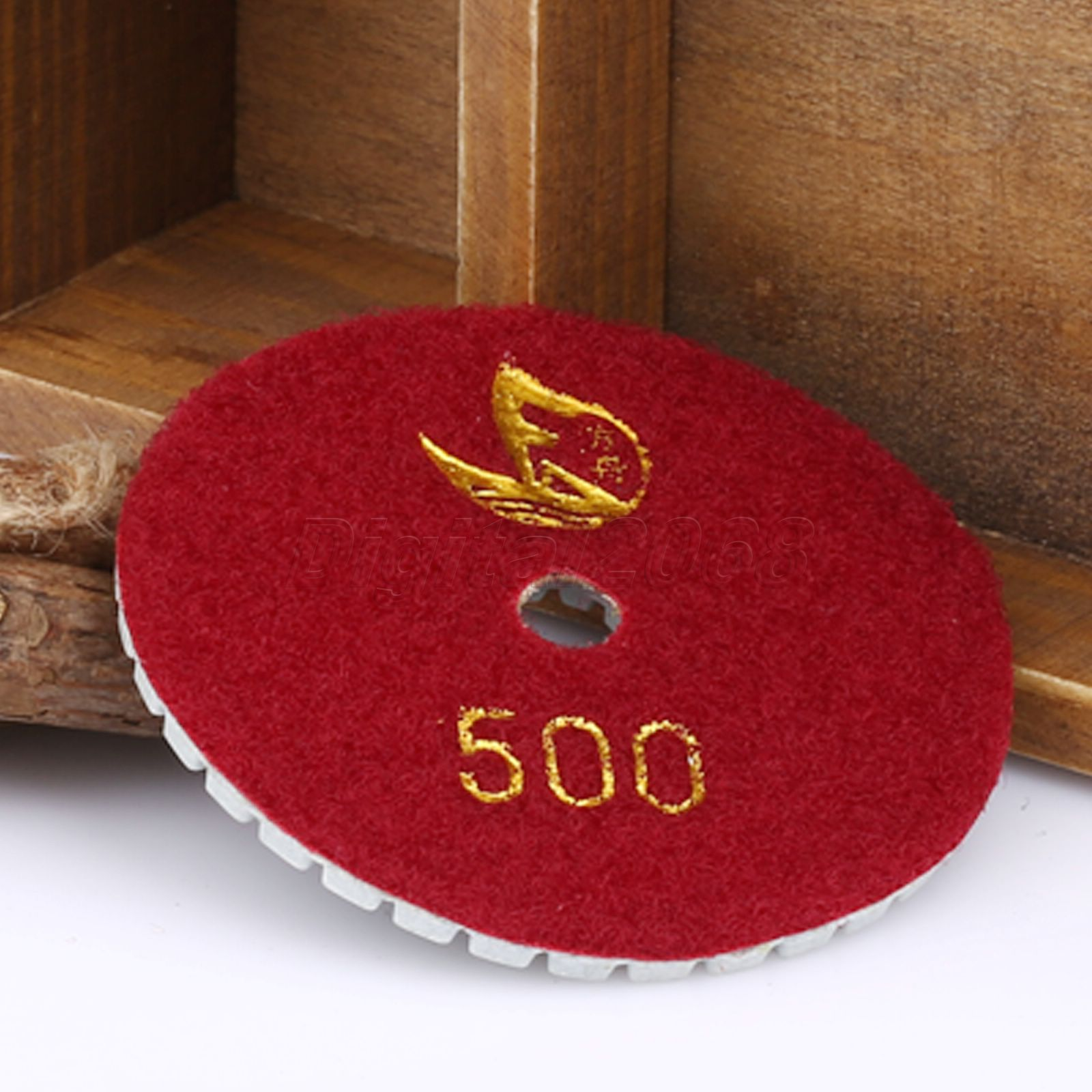500 80mm 3 Inch Professional Wet Dry Granite Concrete Marble Orlando Vintage Wire Cage Retro Sconce Wall Light Brass Diamond Polishing Pads Disc Sander Pad