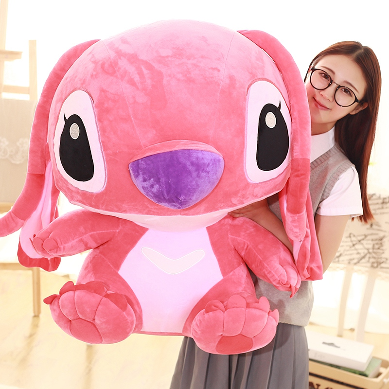 1pc 35-80cm Giant Cartoon Stitch Lilo&Stitch Plush Toy Stuffed Doll Holiday Presents For Children Kids