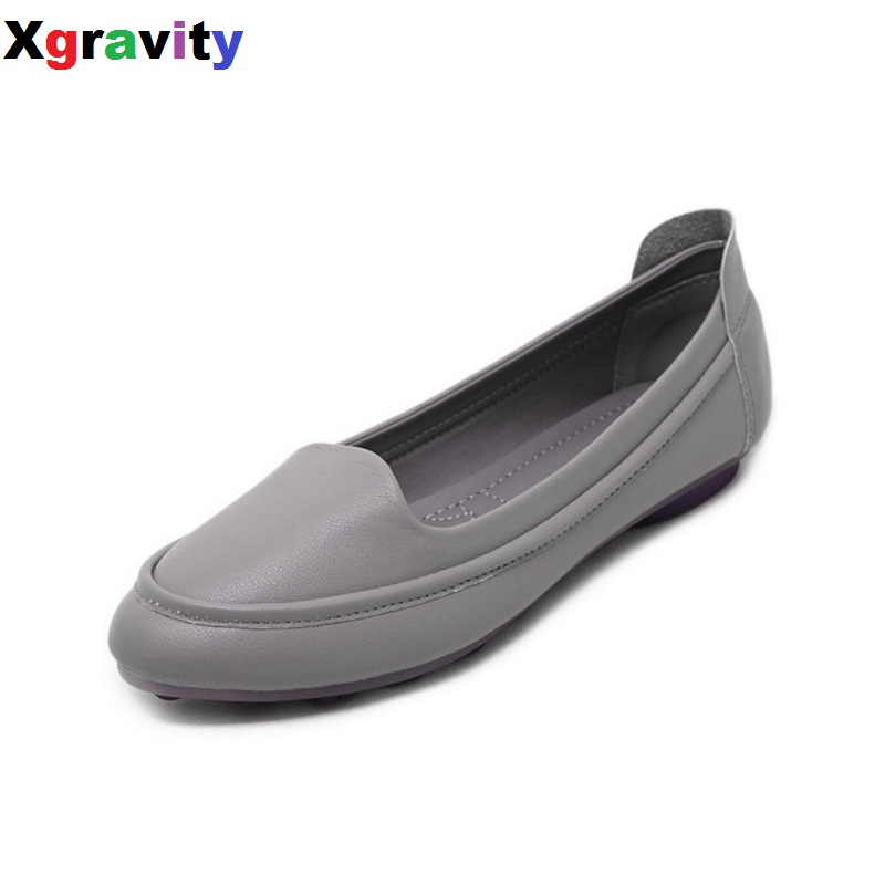 2017 Summer Autumn New Fashion Pointed Toe Casual Flat Shoes Elegant Lady Fashion Flat Loafer Leisure Comfort Women Flats C126 new brand autumn women metal flat shoes casual lady slip on flats soft soled natual leather pointed toe shoes comfort female