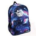 Teenagers Backpack Women Printing BTS Backpacks Fashion Teenage Girls Boys School Bags Waterproof Nylon Men's Rucksack XA850H