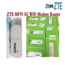 Лот 50 шт. zte беспроводной mf70 HSPA модем 3 г сим-карта Wi-Fi Dongle интерфейсом USB PK Huawei e8231 E355, DHL доставки