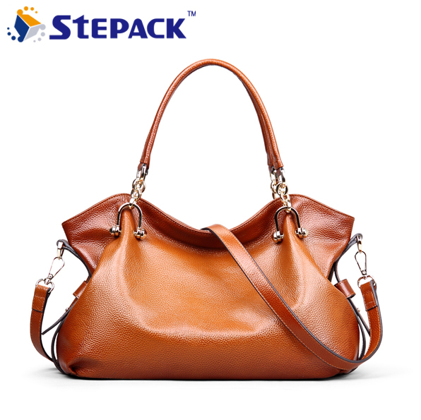 Women Genuine Leather Bag 2016 Famous Brand Crossbody Bag Fashion Summer Ladies Handbag Vintage Shoulder Bag Women Gift wmb0202