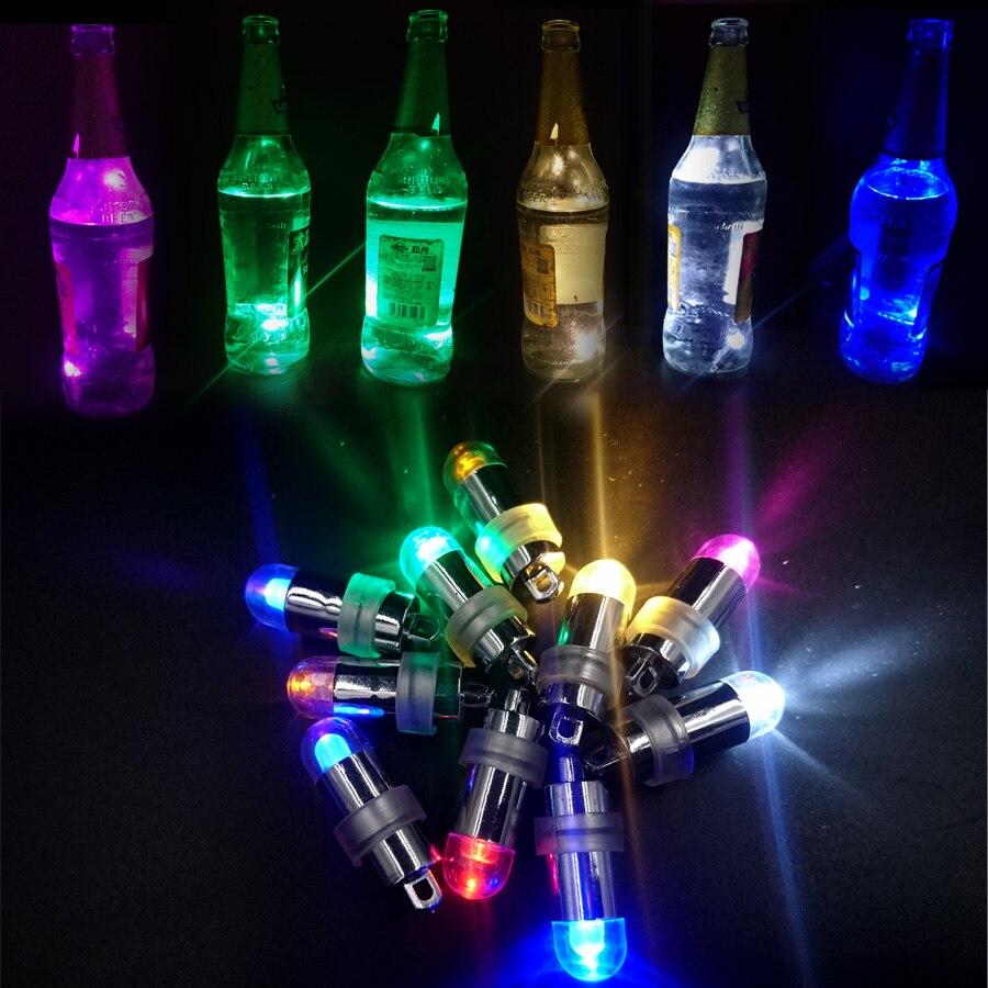 Hohe Qualität 50 Stücke Lot Wasserdichte Bunte Ballon Lichter Papierlaterne Lampen Für Party Hochzeit Aquarium Dekoration Vase Licht Hindernis Entfernen